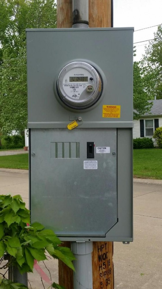 Meter with Breaker Box